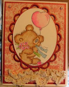 Balloon Bear from Lili of the Valley stamps.