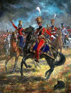 The Red Lancers of the Guard.