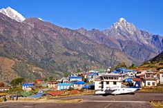 The first step after get off twin otter plane in Lukla Cho Oyu, Everest Base Camp Trek, Plan Your Trip, Nepal, Trekking, Mount Everest, Dolores Park, Camping, Adventure