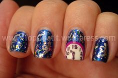 BEST New Year's Eve nails