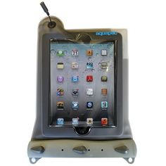 Waterproof Case for iPad, iPad 2 and new iPad - Aquapac 100% Waterproof Phone, Camera, MP3 cases, bags and pouches