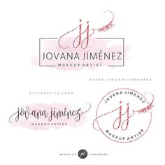 Brand identity, Premade logo design, Unique logo design by GDLogoDesign Cosmetic Logo, Nail Logo, Eyelash Logo, Lashes Logo, Artist Logo, Blog Logo, Branding Kit, Unique Logo, Beauty Logo