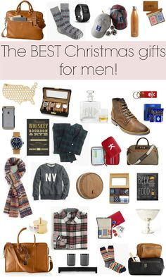 christmas gift ideas for men holiday gift guide via glitter gingham - Best Christmas Gifts For Men