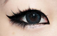 Asian,Circle lens,Eyes,Makeup