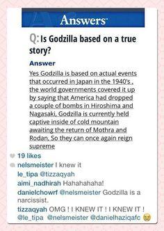 Is Godzilla A True Story?