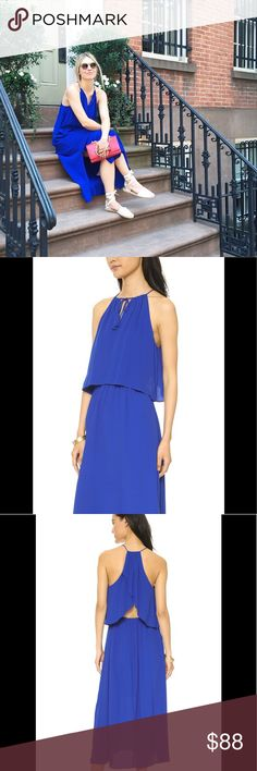 Madewell Flutter Back Overlay Maxi Dress The dress speaks for itself!  Don't let this summer go by without you wearing this beauty.  Sold out in stores. More pics to come soon Madewell Dresses Maxi