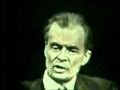 """Watch """"Aldous Huxley interview-1958 (FULL)"""" on YouTube"""