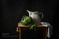 Savoy cabbage by MoniquevanVelzen