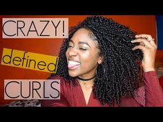 Shingling Method for Crazy Defined Curls| Natural Hair [Video] - Black Hair Information
