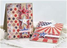 for veterans day or july 4th. paper ios BoBunny liberty collection
