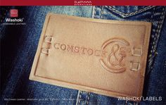 leather labels  We Create Leather, Jacroki, Microki & other materials, Washable up to 60°, Certified, 100% Made in Italy!