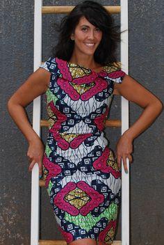#AfricanPrint Uganda Doris Dress