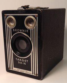 Kodak Brownie Target Six16 by TroutsAntiques on Etsy, $25.00