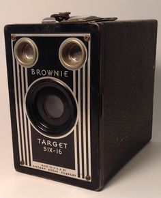 Kodak Brownie Target Six16 by TroutsAntiques on Etsy, $25.00
