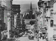 photos of balto md in the 1800s   Baltimore Street - 1945