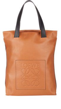 Loewe Contrast-Handle Shopper Tote