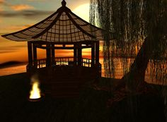 """Sunset to Sunrise"" Captured Inside IMVU - Join the Fun!"