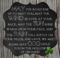 Free Printable of Irish Blessing