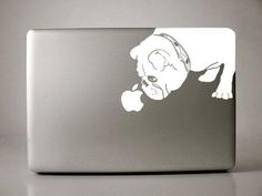 Brit the English Bulldog Decal Apple 15 inch Macbook by IvyBee on Etsy: