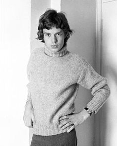 Mick Jagger circa 1962