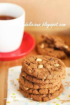 Happy Cooking with LG SolarDom: Nutella chocolate chips cookies