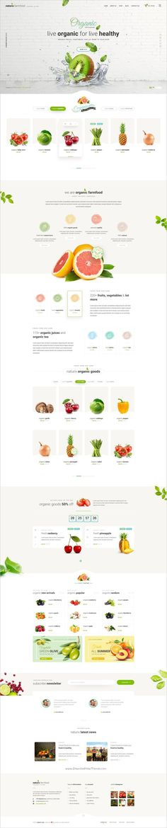 Naturix is a modern and elegant design #Photoshop template for #webdev stunning #organic store eCommerce websites download now➩ https://themeforest.net/item/naturix-organic-store-psd-template/19184061?ref=Datasata - Love a good success story? Learn how I went from zero to 1 million in sales in 5 months with an e-commerce stor #WebDesign