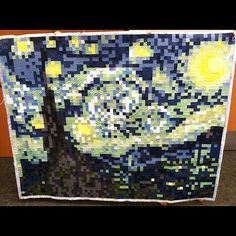 Pixel Quilt by Alissa Clark from the PHXMQG using a Carolina Patchworks Pattern… AMAZING