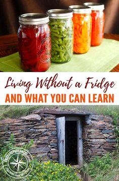 Living Without a Fridge and What You Can Learn — For any homesteader living self-sufficiently, food storage is quite a bit different than it is with modern technology. Without refrigerators and freezers, there is a little more planning involved in food storage.