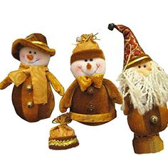 Bargain World Funny Brown Santa Claus Snowman Christmas Xmas For Gift Decoration * This is an Amazon Affiliate link. To view further for this item, visit the image link.