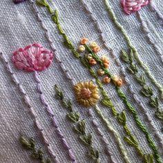 flower gardener hand embroidery pattern PDF by LiliPopo on Etsy