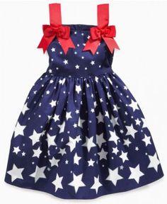 Bonnie Jean Girls Dress, Little Girls Shooting Star Dress - Kids - Macy's 2012