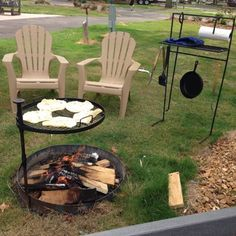 Campfire Grills And Fireside Tables
