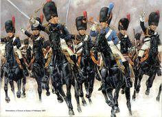 FRANCE - Granadiers a Cheval at Eylau, 8 Feb 1807