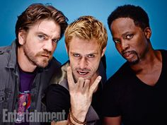 Charles Halford, Matt Ryan, and Harold Perrineau, Constantine. See more stunning star portraits from our photo studio at San Diego Comic-Con 2014 here: http://www.ew.com/ew/gallery/0,,20399642_20837151,00.html