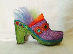 Colorful clog #1. Muses 2016.