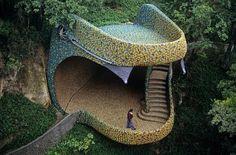 Quetzalcoatl's Nest  by Senosiain Architects