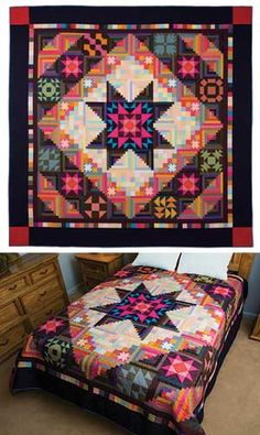 Amish with a Twist II block of the month from Keepsake Quilting.