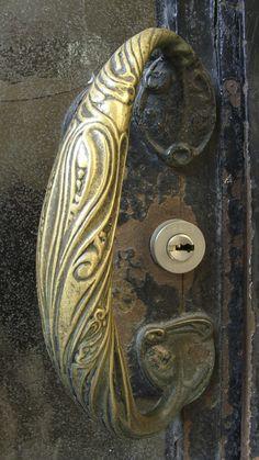 Art Nouveau door handle | JV
