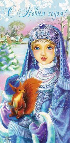 Gallery.ru / Фото #18 - Расскажи, Снегурочка... - Anneta2012