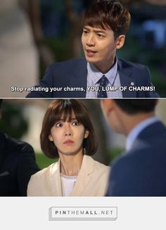 Well aren't you (not) a smooth talker? #FallingforInnocence #korean #kdrama - created via http://pinthemall.net