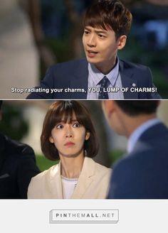 Well aren't you (not) a smooth talker? #FallingforInnocence #korean #kdrama - created via http://pinthemall.net