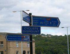 """Welcome to Great Britain, where cycle routes are built and then cyclists are told not to ride bikes along them"""