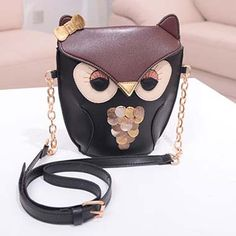 Cute Owl Shoulder Bag