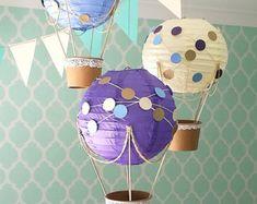 Skurrilen Heißluftballon Dekoration DIY-Kit von mamamaonline