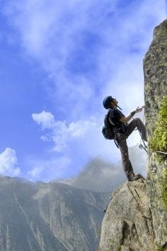 Climb that mountain!
