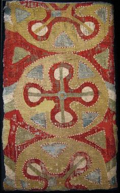Kaitag embroidery, late 17th c.  Daghestan.