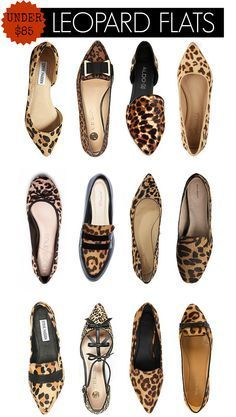 hello sole mate leopard flats