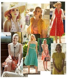Jamie King as Lemon Breeland in Hart of Dixie. Love the hair bows, headbands, hats, vintage dresses and cardigans.