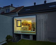 Estensione C. Architect: Loïc Picquet Architecte; location: Saint-Louis, Alsazia, Francia; year: 2012