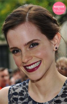 Make linda. Sorriso lindo @ Emma Watson #celebs